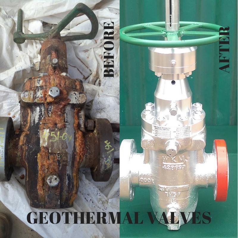 valve re-manufacturing